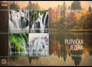 Kroatien Croatia 2019 Block 76 Seen Tourismus Wasserfälle Natur Plitvice Lake