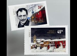 Norwegen 2019 Nr. 2001-02 150. Geburtstag von Harald Sohlberg Maler Graphiker