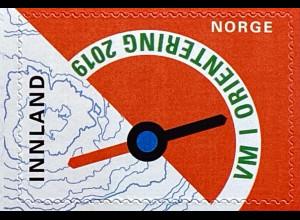 Norwegen 2019 Michel Nr. 2000 Orientierungslauf-Weltmeisterschaft