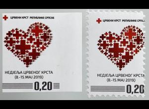 Bosnien Herzegowina Serbische Republik 2019 Nr. 44 Zwangszuschlag Rotes Kreuz