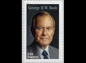 USA Amerika 2019 Nr. 5615 George Bush ehemaliger amerikanische Präsident