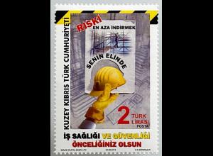 Zypern türkisch Cyprus Turkish 2018 Nr. 856 Arbeitsschutz Gesetze Sorgfalt