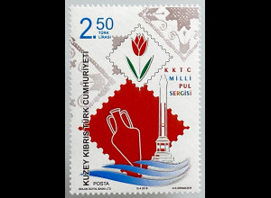 Zypern türkisch Cyprus Turkish 2019 Neuheit Nationale Briefmarkenausstellung