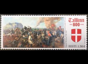 Estland EESTI 2019 Nr. 959 800 Jahre Tallinn Hauptstadt von Estland Kultur