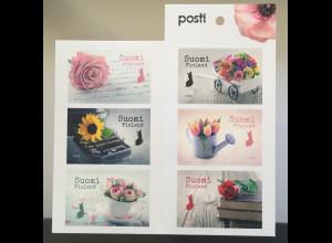 Finnland Finland 2019 Neuheit Sag es mit Blumen Blumengruß Floristenhandwerk