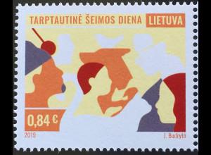 Litauen Lithuania 2019 Nr. 1314 Familientag Gemeinschaft Soziales Familienbande