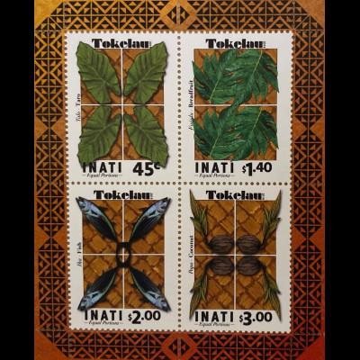 Tokelau Inseln 2019 Block 74 INATI Gleicher Anteil für alle Haushalte Block