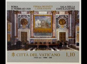 Vatikan Cittá del Vaticano 2019 Neuheit Lateranverträge zwischen Italien Papst