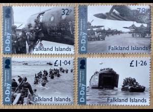 Falkland Inseln 2019 Nr. 1394-97 Landung in Normandie D-Day Zweiter Weltkrieg