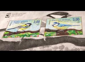 Bosnien Herzegowina Kroatische Post Mostar 2019 Block 42 Europaausgabe Vögel