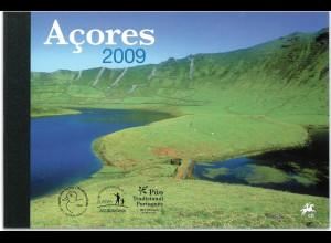 Azoren Prestige Markenheft Nr. 21 Europa Jahrgang 2009