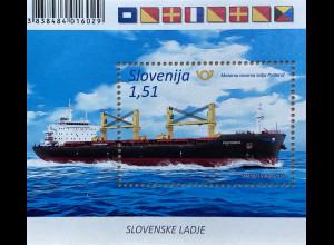 Slowenien Slovenia 2019 Block 117 Schiffe Schifsverkehr Portoroz