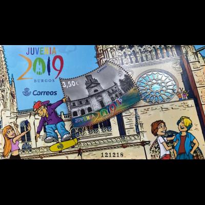 Spanien España 2019 Block 322 Juvenia in Burgos Philatelie Jugendausstellung