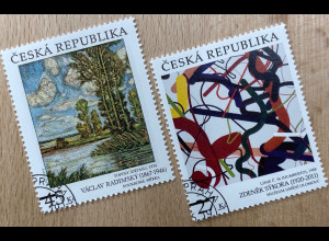 Tschechische Republik 2019 Neuheit Kunst Z. Sykora und Radimsky