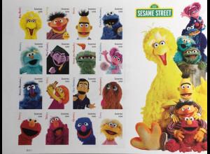 USA Amerika 2019 Nr. 5616-31 50 Jahre Sesamstrasse Sesame Street Cookie Monster