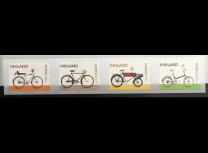 Norwegen 2019 Michel Nr. 2003-06 Fahrräder aus Norwegen Bicycle Zweirad Sport