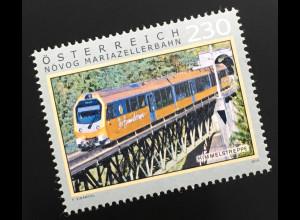 Österreich 2019 Neuheit Himmelstreppe der Mariazellerbahn Serie Eisenbahn
