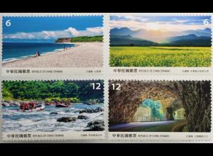 Taiwan Formosa 2019 Neuheit Landschaft Hualien County Osttaiwan Capital Huallen