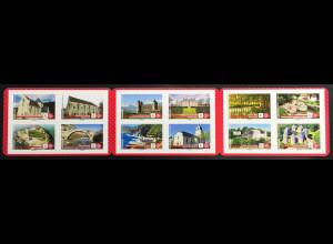 Frankreich France 2019 Nr. 7390-7401 Notre Patrimoine Nationale Baudenkmäler
