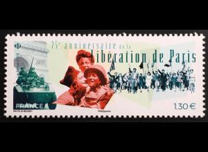 Frankreich France 2019 Nr. 7387 75 Jahre Befreiung Paris Operation Overlord