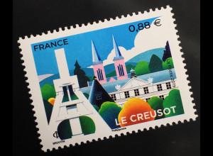 Frankreich France 2019 Neuheit Le Creusot Französische Gemeinde