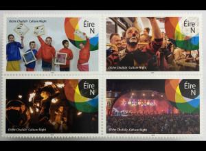 "Irland 2019 Nr. 2333-36 Kulturfestival ""Culture Night"" Gesellschaftliches Leben"