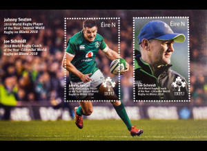 Irland 2019 Block 115 Rugby in Irland Union Nationalmannschaft Joe Schmidt