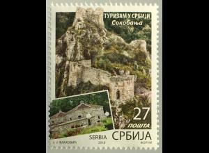 Serbien Serbia 2019 Nr. 889 Tourismus in Serbien Sokobanja Urlaub Reisen