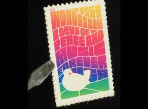 USA Amerika 2019 Nr. 5646 50. Jahrestag des ersten Woodstock Open-Air Festivals