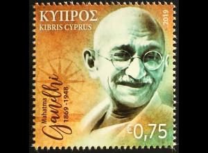 Zypern griechisch Cyprus 2019 Nr. 1417 150. Geburtstag von Mahatma Gandhi