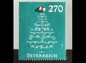 Österreich 2019 Neuheit Weihnachten Christbaum mit Kristallornament Swarovski
