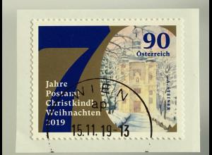 Österreich 2019 Neuheit Weihnachten 70 Jahre Postamt Christkindl Rollenmarke