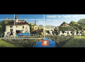 Schweiz 2019 Neuheit Tag der Briefmarke Philatelistenverein Bulle
