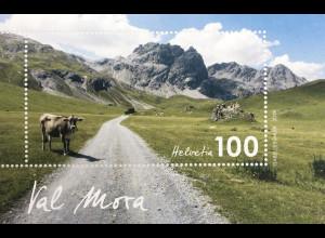 Schweiz 2019 Neuheit Val Mora - Typische Schweizer Landschaft Hängetal