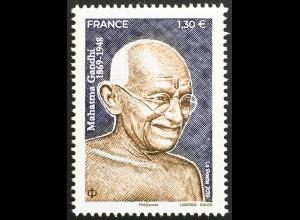 Frankreich France 2019 Nr. 7455 150. Geburtstag von Mahatma Gandhi Freiheit