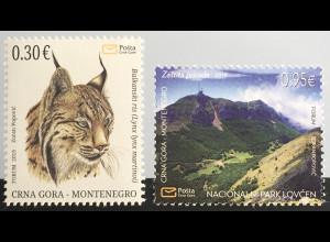 Montenegro 2019 Neuheit Luchs Lovcen Nationalpark Naturschutz Fauna Tiere