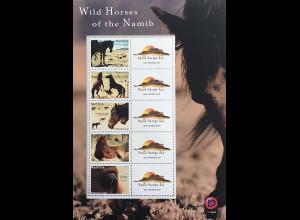 Namibia 2019 Neuheit Wild Horses of the Namib Namibische Wildpferde Wüstenpferd