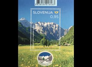 Slowenien Slovenia 2019 Block 119 Naturparks – Landschaftspark Logar-Tal
