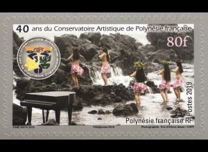 Polynesien französisch 2019 Neuheit 40 Jahre Kunst und Kultur Tanz Brauchtum