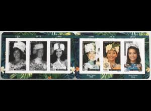 Polynesien französisch 2019 Michel Nr. 1406-11 Miss Tahiti Schönheitskönigin
