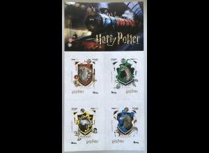 Portugal 2019 Neuheit MH Harry Potter Heraldik Wappen Ravenclaw Gryffindor