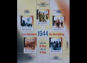 Belgien 2019 Block 245 75. Jahrestag der Befreiung Belgiens Zweiten Weltkrieg