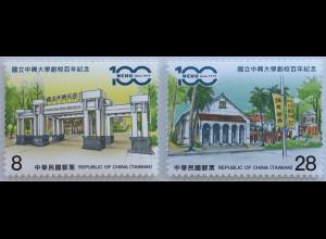 Taiwan Formosa 2019 Neuheit NCHU Chung-Hsing-Nationaluniversität Bildung