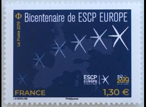 Frankreich France 2019 Nr. 7470 200 Jahre Wirtschaftshochschule ESCP Europe