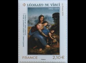 Frankreich France 2019 Nr. 7476 500. Todestag von Leonardo da Vinci
