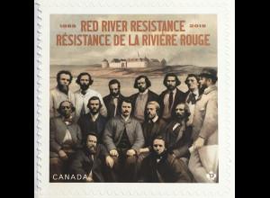 Kanada Canada 2019 Neuheit Red River Widerstandsbewegung Kanadische Föderation