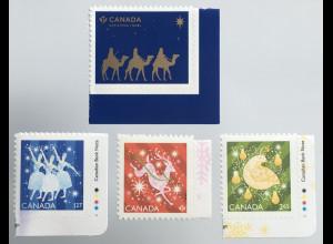Kanada Canada 2019 Neuheit Weihnachten Christmas Natale Rentier Vogel Engel