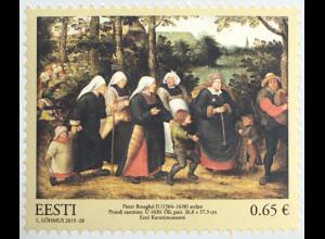 Estland EESTI 2019 Neuheit Schätze des Estonischen Kunstmuseums Gemälde Kunst