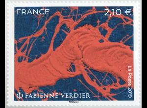 Frankreich France 2019 Neuheit Fabienne Verdler Moderne Kunst Gemälde China