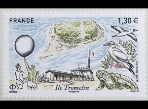 Frankreich France 2019 Nr. 7505 Inseln Tromelin Tourismus Reiseziele